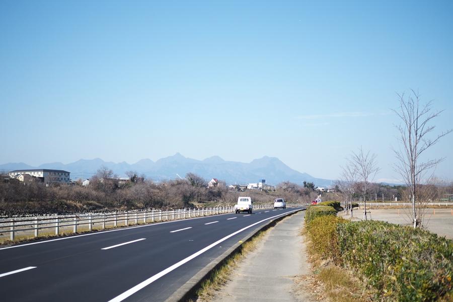 赤城山や榛名山を望むことのできる景色