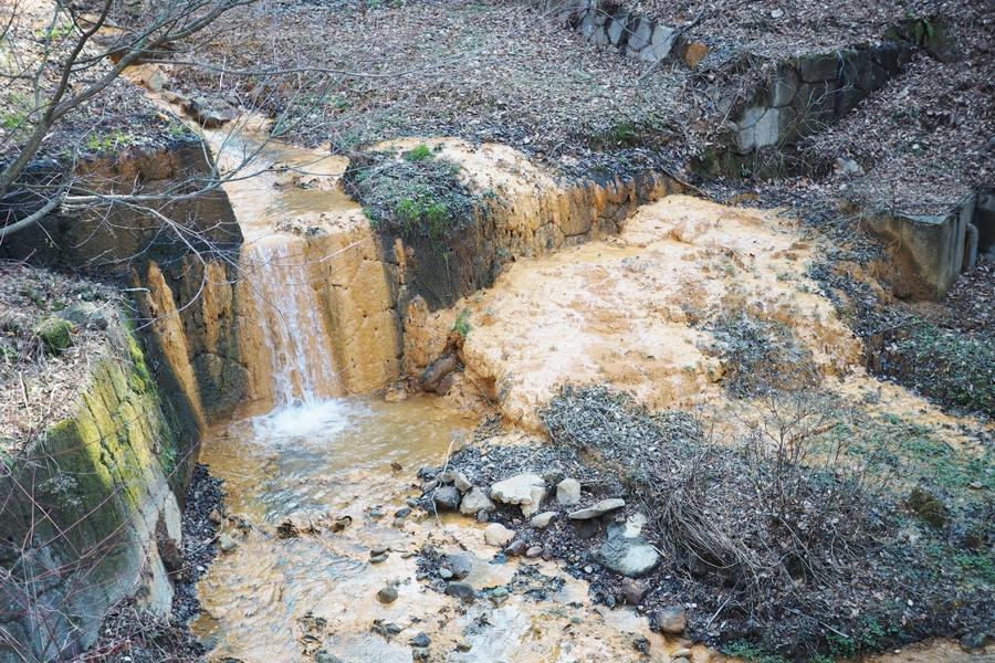 伊香保温泉の川