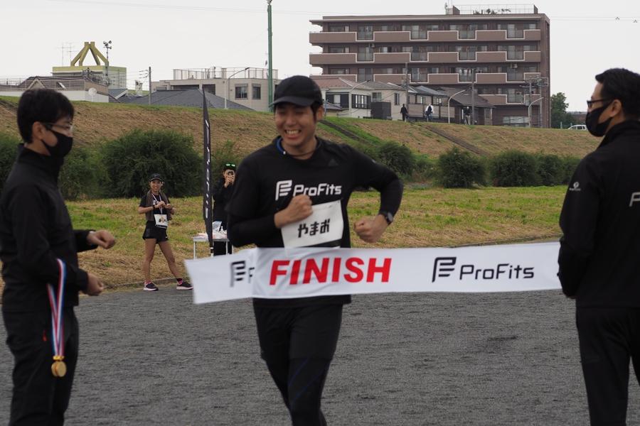 4時間12分31秒で、杉山さんもゴール!