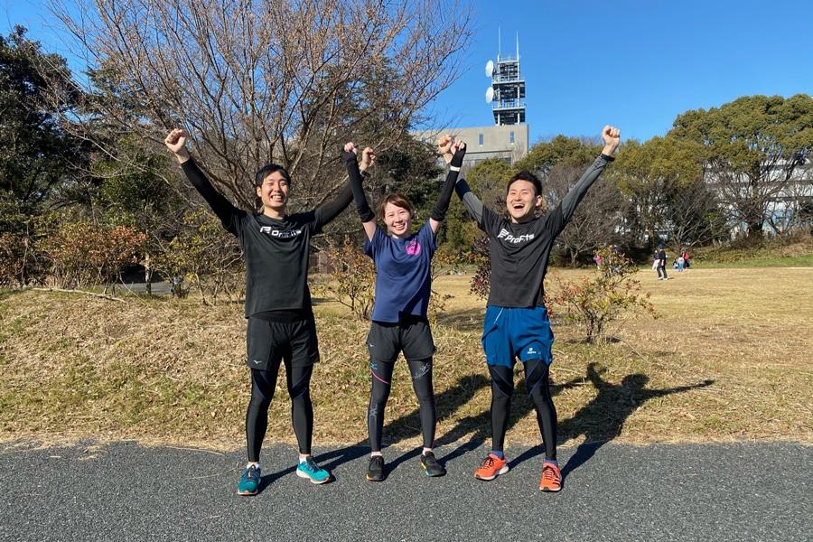 松浦さん、杉山さん、冨岡さんはみごと目標達成!
