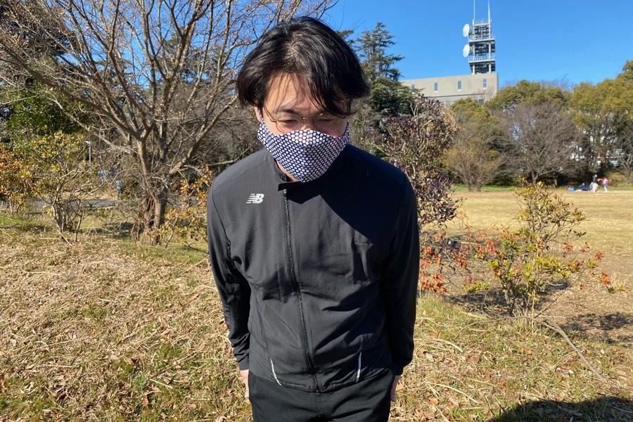 清水さんは、10kmほどで途中棄権。