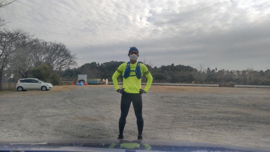 風は無かったのですが日が差さず、後半は寒く感じるようなコンディション