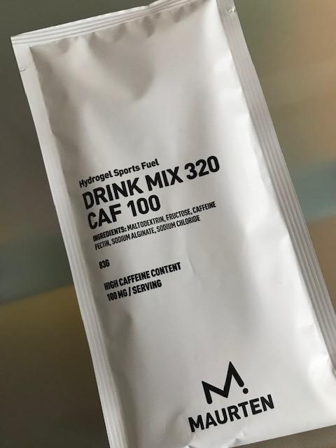 味はDRINKMIX 320と、変わらず飲みやすい。